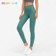 <b>Colorvalue</b> New <b>Soft</b> Printed Fitness Gym Leggings Women 4 Ways ...