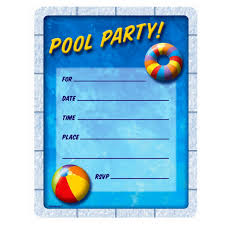 good pool party invitation templates com brilliant birthday pool party invitation templates as affordable article