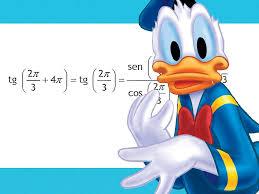 Resultado de imagen de pato donald en el pais de las matematicas