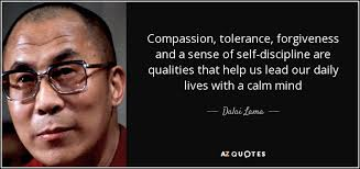 Dalai Lama quote: Compassion, tolerance, forgiveness and a sense ... via Relatably.com