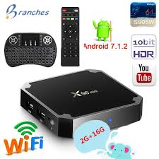 <b>X96 mini</b> X96-W S905W mini <b>TV</b> BOX Android 7.1 4K 2GB 16GB ...