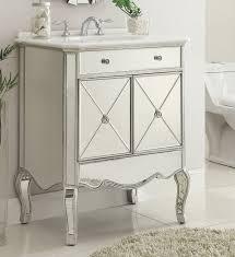 hayden chic elegant french bathroom design quot mirrored bathroom sink vanity model bwv   ashley