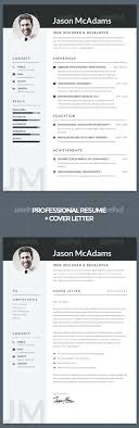 a professional resume and cover letter vol