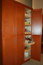 pantry storage cabinet choosing kitchen  brilliant cherry wood tall kitchen cabinets with pull out drawers and