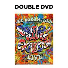 Joe Bonamassa: <b>British Blues</b> Explosion Live (DVD) (Released ...