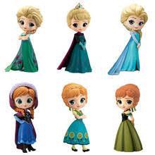 <b>Фигурка Q Posket</b> Queen, Эльза и Анна, игрушки, куклы Aurore ...