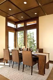 elegant square black mahogany dining table: minimalist decoration dining room design splendid rectangular teak wooden dining table comfortable