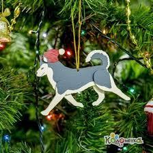 <b>Декоративные</b> новогодние украшения: <b>Хаски</b> 7012 Светло серый