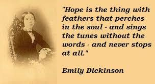 Emily Dickinson's quotes, famous and not much - QuotationOf . COM via Relatably.com