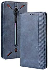 GUOHUI Protective Phone Cover Case <b>Magnetic Buckle Retro</b> ...