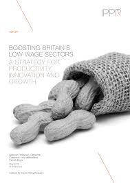 boosting britain s low wage sectors a strategy for productivity boosting britain s low wage sectors a strategy for productivity innovation and growth
