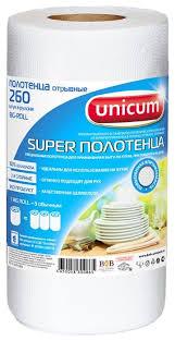 <b>Полотенца бумажные Unicum Big</b> Roll двухслойные белые ...