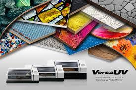 <b>VersaUV LEF2</b> Series Benchtop UV Flatbed Printer | <b>Roland</b> DG
