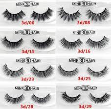12 styles <b>2pcs</b>/pair 100% <b>Real</b> Siberian 3D Mink <b>Full</b> Strip False ...