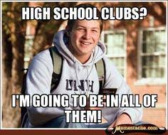 High School Freshman Meme   Funny Internet Memes   Pinterest ... via Relatably.com