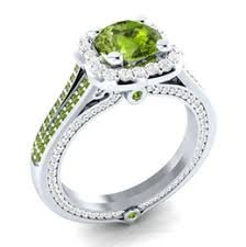 gem stone sterling ring UK