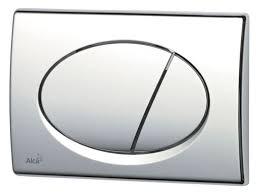 <b>Кнопка смыва Alca Plast</b> M71 <b>хром</b> - <b>глянцевая</b> - купить недорого ...