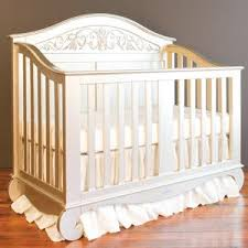 decor heritage crib color white baby
