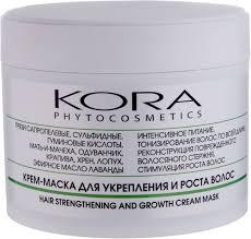 KORA Крем-<b>маска для укрепления и</b> роста волос, 300 мл