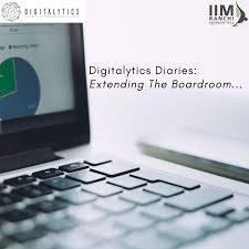 Digitalytics Diaries: Extending the Boardroom