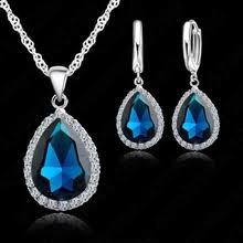 купите <b>water drop crystal necklace</b> wedding с бесплатной ...