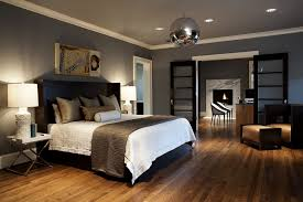 modern craftsman master bedroom example of a trendy master bedroom design in seattle with gray walls amazing bedrooms designs