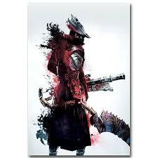<b>Bloodborne</b> New Game <b>Silk</b> Poster <b>Art</b> Fabric Print 12x18 24x36 ...