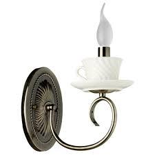 Настенный светильник <b>Arte Lamp</b> Teapot <b>A6380AP</b>-<b>1AB</b>, 40 Вт