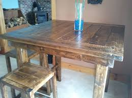 table bar height chairs diy: pub style table do it yourself home projects from ana white