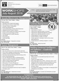 job opportunities in institute of business administration karachi job opportunities in institute of business administration karachi 17th 2016