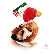 <b>GiGwi Dog Toys игрушка</b> утка с пищалкой коричневая в интернет ...