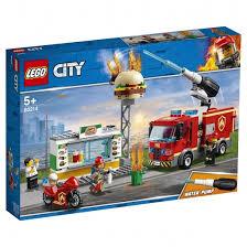 <b>Конструктор Пожарные</b>: <b>Пожар</b> в бургер-кафе 327 дет. 60214 ...