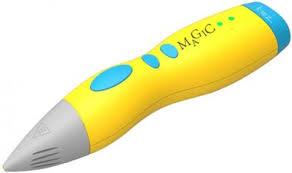 Купить <b>аксессуары</b> для <b>3D</b>-ручки KREZ <b>Magic</b> P3D08 Yellow в ...