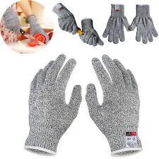 Cut Resistant Gloves <b>Anti</b>-<b>Cutting</b> Food Grade <b>Level 5</b> Kitchen ...