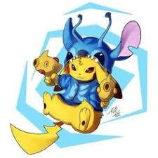"""Résultat de recherche d'images pour """"pikachu et stitch"""""""