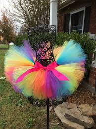 Rainbow tutu Rainbow Glitz Full Tutu Newborn <b>1st Birthday Tutu</b> ...