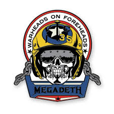 Warheads on Foreheads Pin - Megadeth