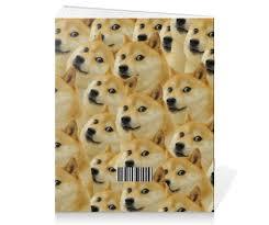<b>Тетрадь на скрепке</b> Doge #965644 от scoopysmith
