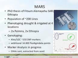 MARS     PhD thesis