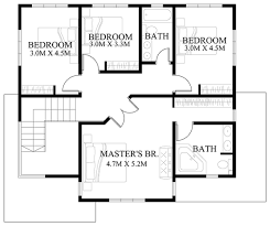 Modern House Design Plans   Bedroom House Plans Apartment Layout    Ground Floor Plan