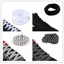 <b>1 Pair</b> New Tie Free <b>Shoelaces Lazy</b> Flat Solid Shoe <b>Laces</b> Casual ...