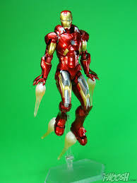 figma the avengers iron man bootleg iron man 2 starring