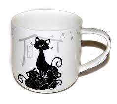 <b>Кружка CARMANI Crazy cats</b> Черно - белые коты семья 500 мл ...