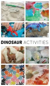 Fun <b>Dinosaur Activities</b> for Preschoolers | Little Bins for Little Hands