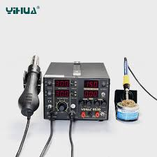 China <b>Yihua 853D</b> 5A <b>3 in</b> 1 Soldering Station - China Rework ...