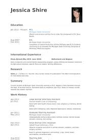 large animal veterinary assistant resume samples veterinary technician resume examples