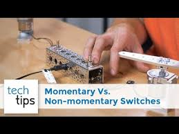 Comparing <b>Momentary</b> Switches & <b>Non</b>-<b>momentary</b> Switches - with ...