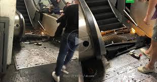В метро Рима сломался эскалатор с <b>фанатами ЦСКА</b>: есть ...