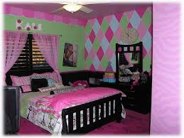 bedroom fantastic ideas of cool rooms for girls teen rustic black wooden bed with pink linen black and pink bedroom furniture