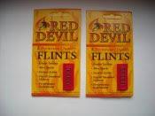 Кремни для <b>зажигалок</b> Red <b>Devil</b> США | REIBERT.info
